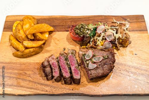 Papiers peints Steakhouse Grilled Australian Wagyu Beef