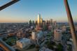 Quadro Dallas City Skyline at sunset, Texas, USA