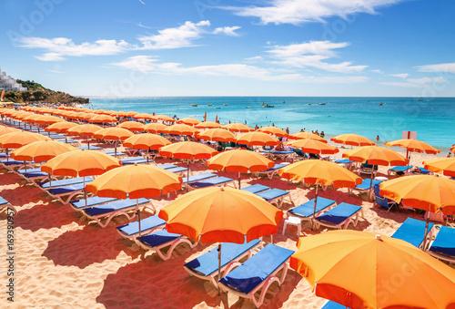plage sous le soleil Poster
