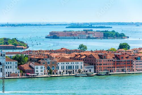 Foto op Plexiglas Venetie Aerial view of Venice