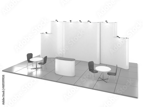 Exhibition Booth Blank : Booth vectors photos and psd files free download
