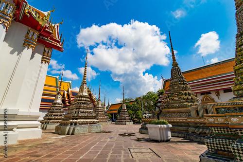 Foto op Plexiglas Japan 花咲く涅槃仏寺、ワットポー、Wat Pho