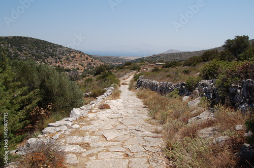 Fotobehang Diepbruine Greece