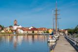 Hafen und Altstadt von Wolgast - 169408520