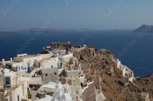 Fotobehang Santorini Greece