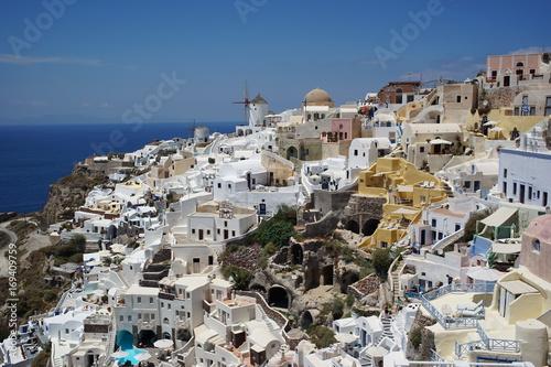 Fotobehang Santorini santorin