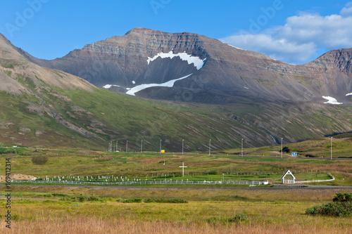 Icelandic Mountains landscape