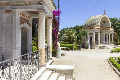 Papiers peints Palerme Villa Giulia park in Palermo, Italy