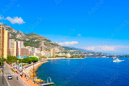 Fotobehang Nice Monte-Carlo, Fürstentum Monaco