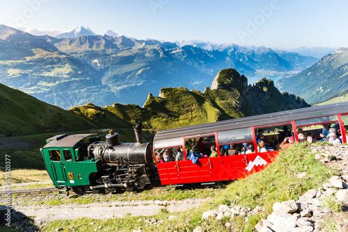 Brienz Rothorn Railway, Alpy i góry w Bernese Oberland, Szwajcaria