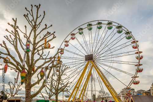 Plakat Exposure of Ferris Wheel in Luxembourg