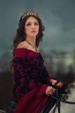 Medieval Queen portrait