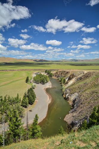 Fotobehang Pistache River