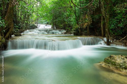 Fotobehang Natuur beautiful waterfall in Thailand