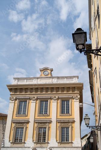 Foto op Plexiglas Nice Nice, France. Historical building low angle view