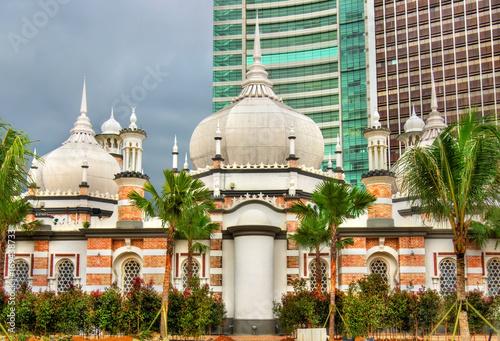 Masjid Jamek, one of the oldest mosques in Kuala Lumpur, Malaysia Poster