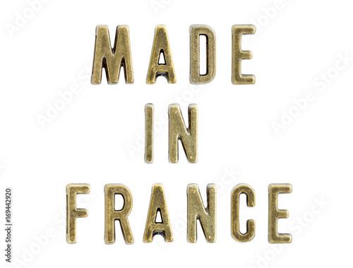 Fotobehang Canada Made in France