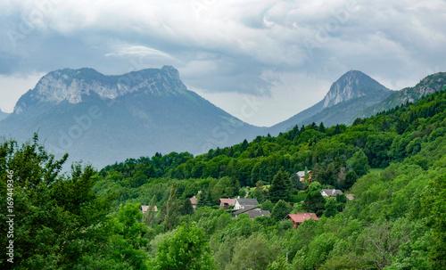 Aluminium Zomer Mountain landscape in summer