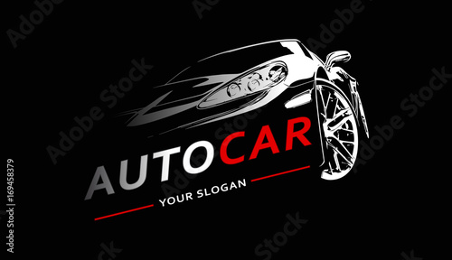 Car Logo Abstract Lines Vector. Vector illustration - 169458379