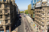 A view looking north (along David Street) from the Scott Monument, Princes Street, Edinburgh, Scotland. - 169528976
