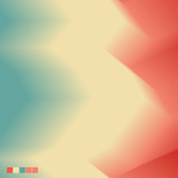 Abstract Wavy and Dynamic Colorful Vector Background
