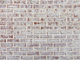Whitewashed brick wall texture or background - 169538953