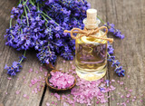 Lavender and massage oil - 169543373