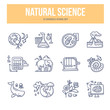 Natural Science Doodle Icons