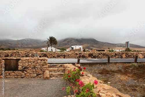 Aluminium Canarische Eilanden Beautiful view and traditional architecture in the Canary Islands, Spain.