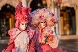 Women in carnival costume,Venice, Veneto, Italy, Europe - 169579569