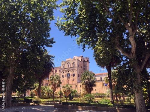 Papiers peints Palerme Palace of Normans view, Palermo