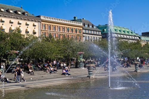 Foto op Canvas Stockholm Architektur in Stockholm