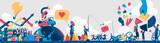Vivere nell'era dei Social Media - 169626941