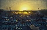 Apocalyptic landscape - 169629956