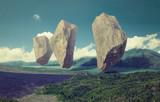 floating rocks - 169629999