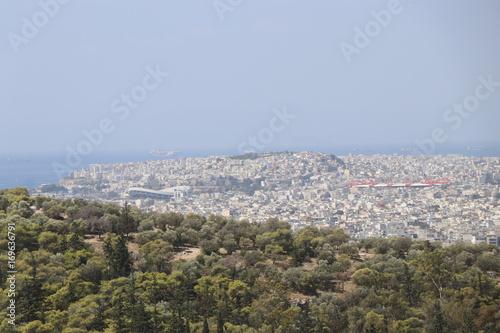 Fotobehang Khaki Athens