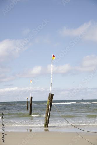 Foto op Canvas Noordzee Weiße Düne, Strand von Norderney