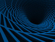Abstract Architecture Tunnel Stripes Background