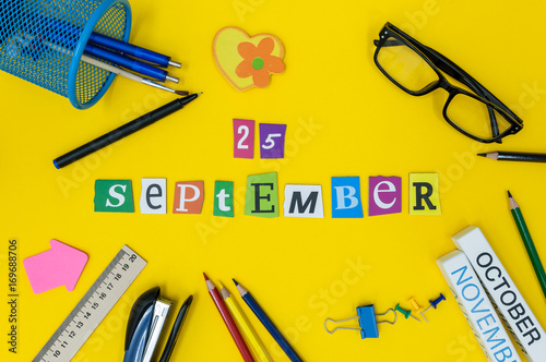 Poster September 25th