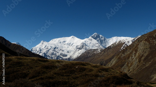 Papiers peints Bleu nuit Tour des annapurnas - Népal