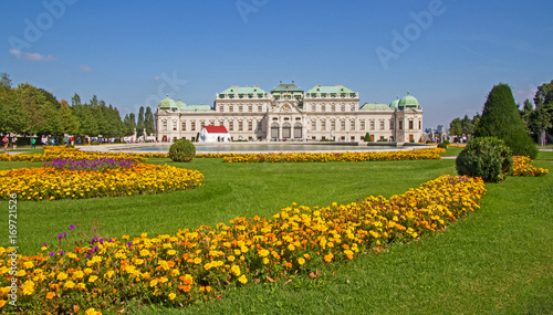 Foto op Canvas Wenen Wien Vienna Oberes Belvedere - Belvedere palace