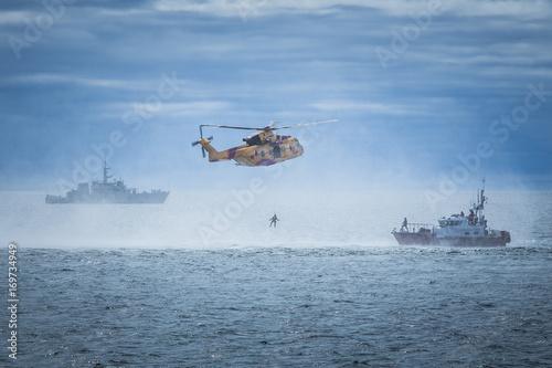 Dramatic Coast Guard Ocean Rescue