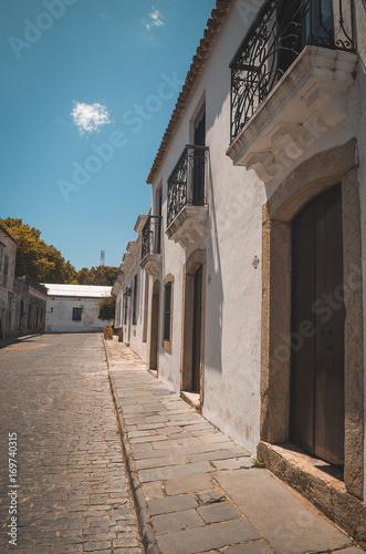 Fotobehang Smalle straatjes Antiga cidade de Colônia del Sacramento, Uruguay