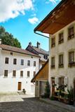 Buildings of Gruyere, Switzerland