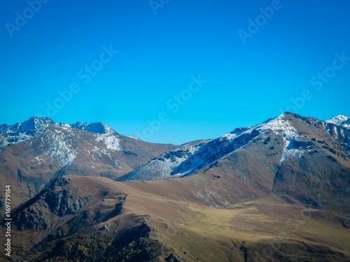 Fotobehang Cappuccino mountains