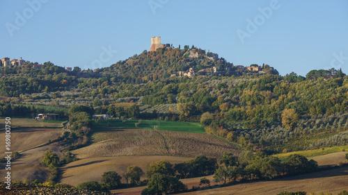 Aluminium Toscane Tuscany landscape