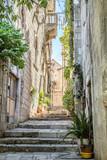Street in old town of Croatia - 169819972