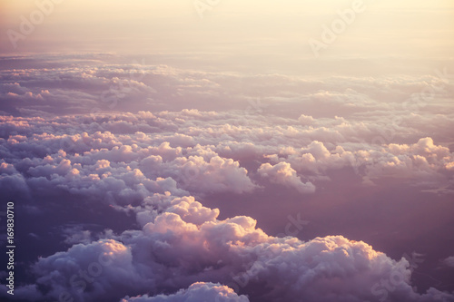 sunset and clouds - 169830710