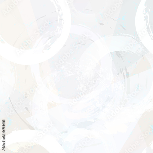 Aluminium Abstract met Penseelstreken abstract geometric pattern background, retro/vintage style, with circles, grungy