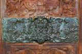 Détail du porche nord de l'église Saint-Maclou. Rouen - 169838795